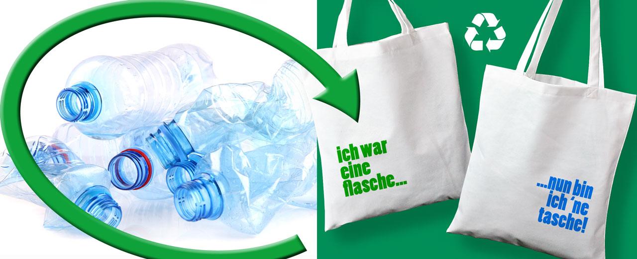 PET Recyclingtaschen