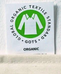 GOTS Standard bei Baumwolltaschen Bio