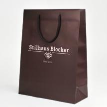 Papiertasche für Mode
