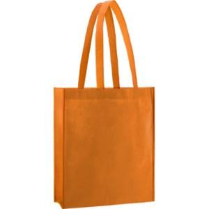pp non wovon Taschen / Vliestasche orange