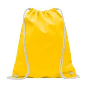 praktischer Turnbeutel, gelb
