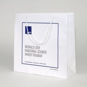 Papiertasche für Steuerberater