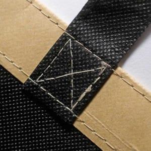 Henkelvernähung bei Papermix-Taschen