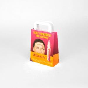 Kleine Apothekertasche aus Papier