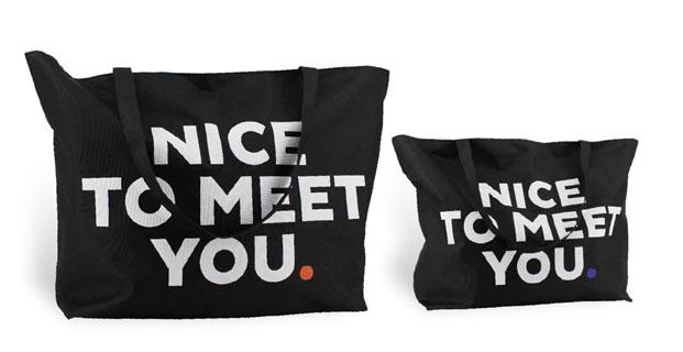 XXL Einkaufstaschen aus Nylon mit Reißverschluss und zwei langen Schultergurten aus 600 D Polyester