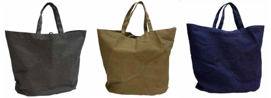 Haltbare Strandtaschen in 3 Farben