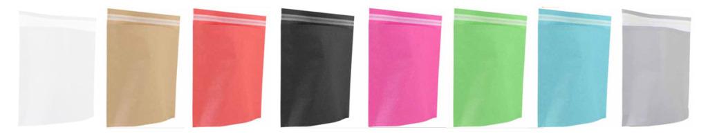 Umweltfreundliche Versandtaschen aus Papier in 9 Farben